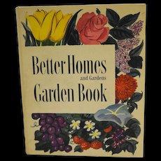 Better Homes and Gardens Garden Book 1951 Ring Bound