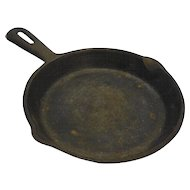 Cast Iron 6.5 IN Skillet Small Made in Taiwan