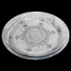 Fire King Anchor Hocking Sapphire Blue Philbe Pie Plate Ovenware