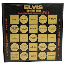 Elvis The Other Sides Volume 2 Gold Records 50 Gold Award Worldwide Hits Vinyl 4 Disc