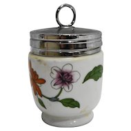 Royal Worcester Astley Egg Coddler Porcelain Floral King Size