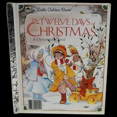 The Twelve Days of Christmas Little Golden Book 1983
