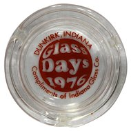 Indiana Glass Days 1976 Ashtray Promotional Item
