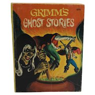 Grimm's Ghost Stories Big Little Book 1976 Western Publishing Whitman Book