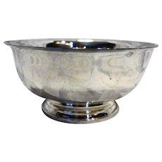 Gorham Silver Plate Revere Bowl 8 IN YC780