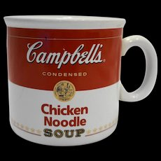 Campbells Chicken Noodle Soup Large Mug Teleflora 1996