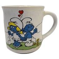 Smurfs Mug I Love You Valentine's Day Smurfette