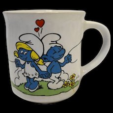 Smurfs Mug I Love You Valentine's Day Smurfette