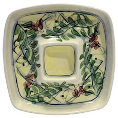 Gail Pittman Maypop Square Chip And Dip 11 IN