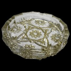 EAPC Large Ashtray Early American Prescut Anchor Hocking 7 3/4 IN