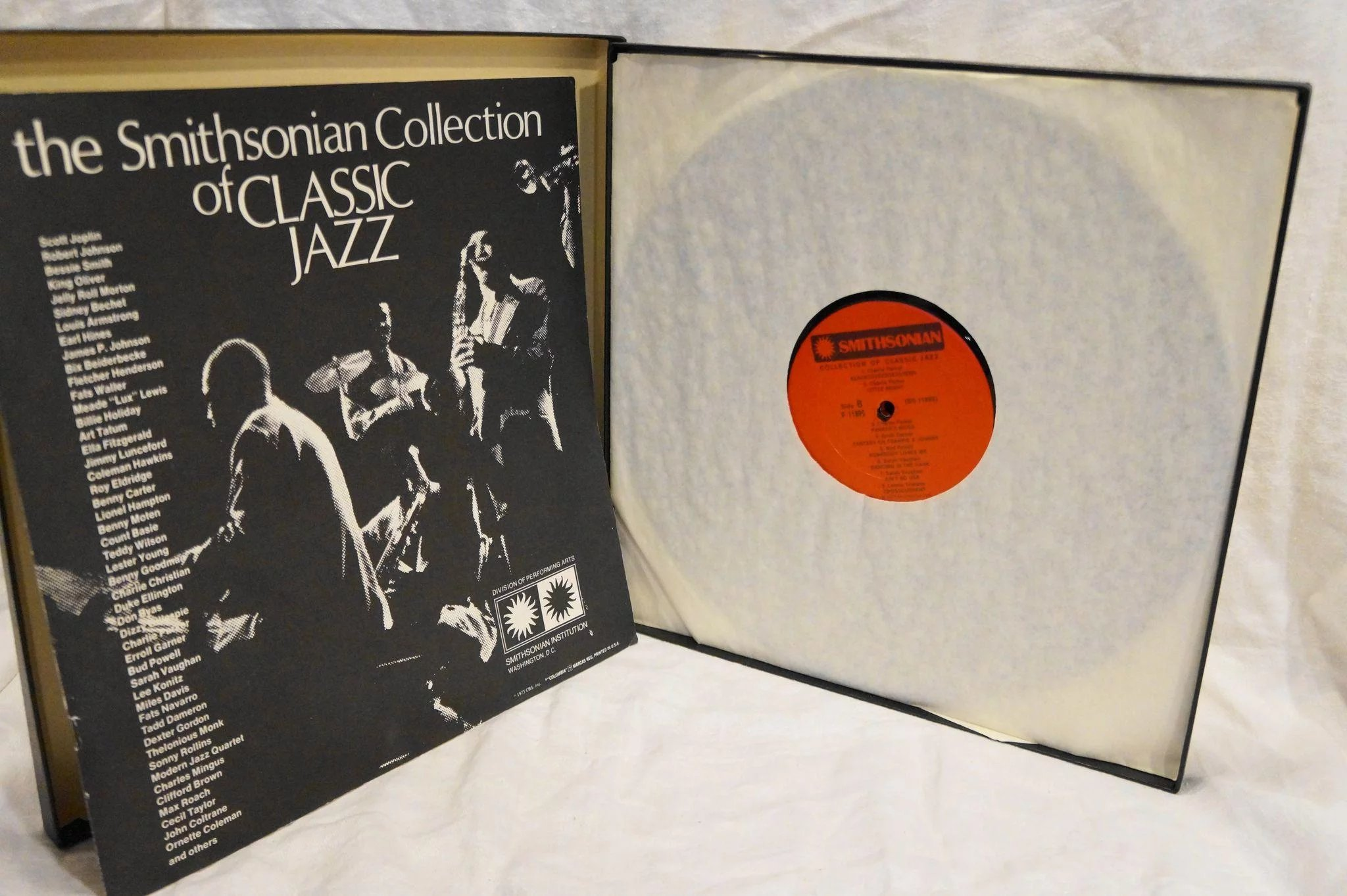 The Smithsonian Collection Of Classic Jazz 6 Vinyl Lps