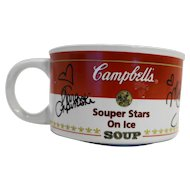 Campbell's Souper Stars on Ice Soup Mug 1998 Figure Skating Champions