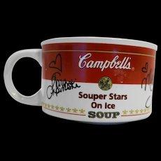 Campbell's Souper Stars on Ice Soup Mug 1998 Figure Skating Champions