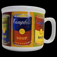 Campbell's Soup Condensed Soup Cans Pop Art Multicolor Houston Harvest