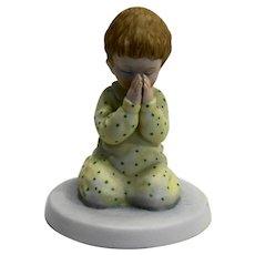 Nighttime Thoughts A Child's World Porcelain Figurine Frances Hook