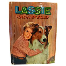 Lassie Forbidden Valley 1959 Hardcover Book Doris Schroeder