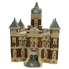 Department 56 Snow Village County Courthouse - Red Tag Sale Item