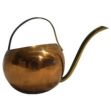 Coppercraft Guild Copper Brass Watering Can Small Bell Shape