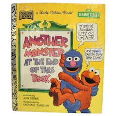 Another Monster at the End of This Book Little Golden Book 1996