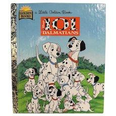 101 Dalmatians Disney Little Golden Book 1996