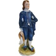 Lefton Blue Boy Limited Edition KW387 Figurine