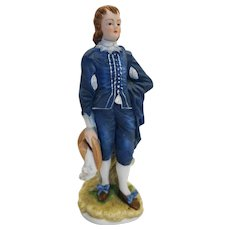Lefton Blue Boy Limited Edition KW387 Figurine