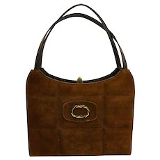 Naturalizer Chocolate Brown Simulated Leather Purse Handbag
