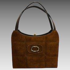 Naturalizer Chocolate Brown Simulated Leather Purse Handbag