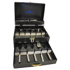 Martian Original Collection 18-8 Stainless Steel Dessert Set Forks Spoons In Box