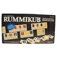 Rummikub 1990 Board Game Pressman Complete Rummy Tile Board Game