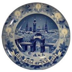 Bing Grondahl 1895-1995 Centennial Christmas Towers 12 3/4 IN Platter New In Box