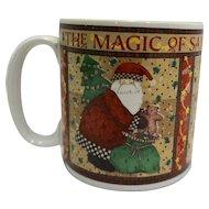 Debbie Mumm The Magic of Santa Sakura Mug