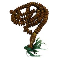 Baltic Amber Tasbih Muslim Prayer Beads Rosary 89G 28 IN