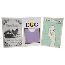 Eggcyclopedia Egg Products Rose Acre Farms Egg Recipes Booklets Set of Three