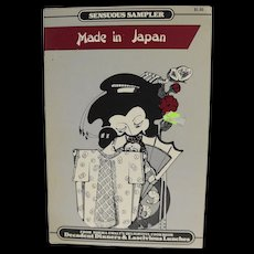 Sensuous Sampler Made in Japan Recipes Booklet Norma Ewalt Decadent Dinners 1985