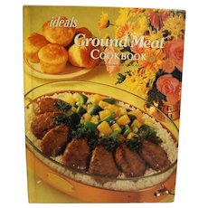 Ideals Ground Meat Cookbook June Turner 1981 Hardcover