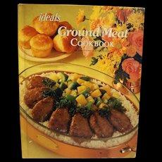 Ideals Ground Meat Cookbook June Turner 1981 Hardcover