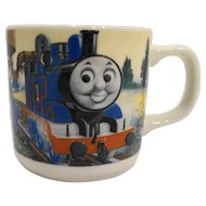 Wedgwood Thomas The Tank Engine Train Child Cup Porcelain 1998 Wedgwood England