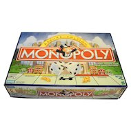Deluxe Monopoly Set 1998 Gold Tokens Carousel Parker Brothers Hasbro