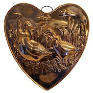 Copper Mold Heart Ducks Geese ODI Made in Korea