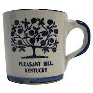 Louisville Stoneware Pleasant Hill Kentucky Souvenir Mug