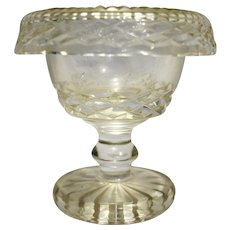 Waterford Crystal Master Salt Rolled Rim 3 5/8 IN