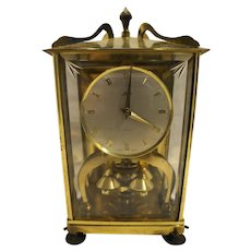 Schatz Brass 400 Day London Coach Midcentury Shelf Clock Mini