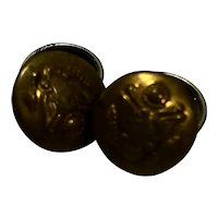 US Military Brass Eagle Buttons Large Small Group