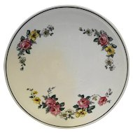 Homer Laughlin Kitchen Kraft Cake Plate Virginia Rose Armand 1940s