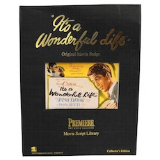 It's A Wonderful Life Movie Script Paperback 1994 Premiere Movie Magazine