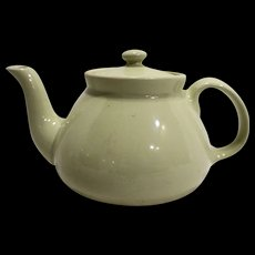 Cream Off White Glazed Teapot Tea Pot