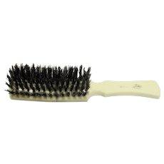 Fuller Brush Pure Boar Bristle Cream Handle Hair Brush 1960s