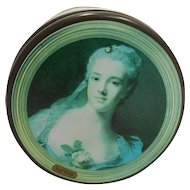 National Gallery of London Small Tea Tin Round Masterpieces Impressionist