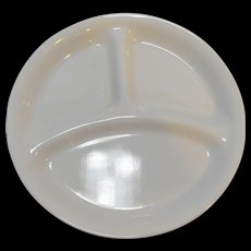 Corelle Winter Frost White Divided Grill Plate 8 1/2 IN